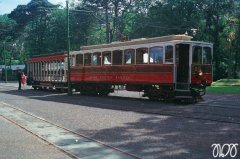 IoM 1975 - Laxey, Train Station